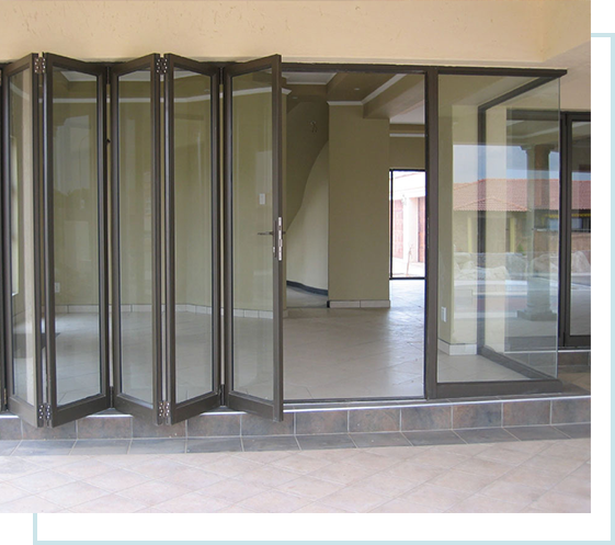 FEATURES AND BENEFITS OF FOLDING-STACKING DOORS