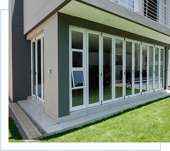 RESIDENTIAL FOLDING STACKING DOORS INSTALLATIONS
