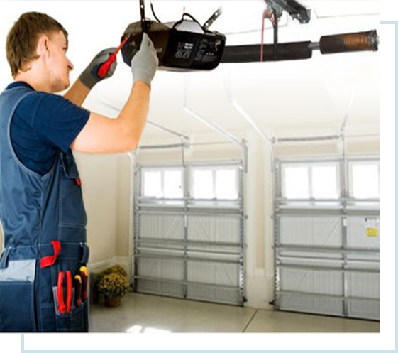BROKEN GARAGE DOOR repairs OPENER