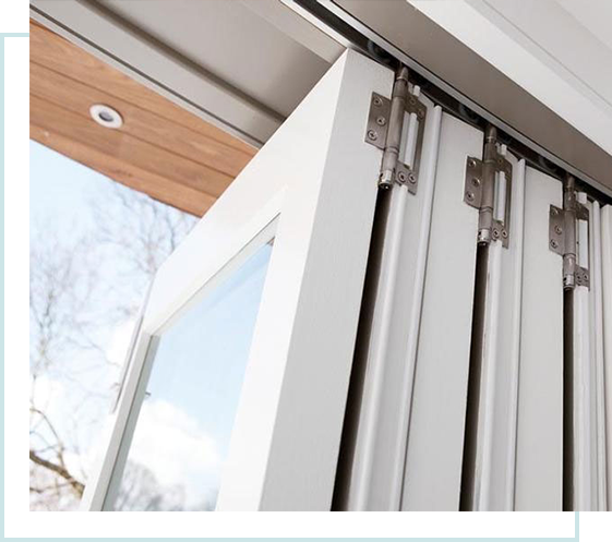AFFORDABLE FOLDING STACKING DOORS
