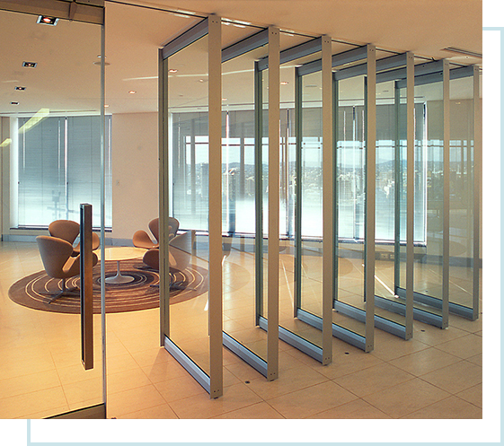 quality folding stacking door